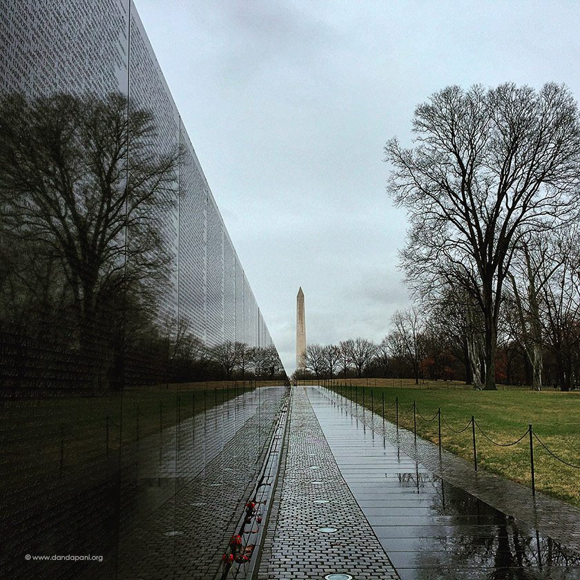 vietnam war memorial dc - DC entrepreneurs Learn Unwavering Focus